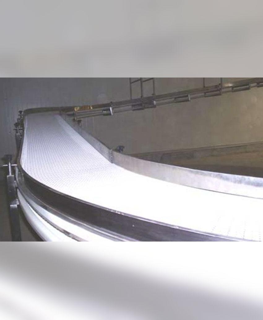 Modular Curve Belt Conveyor